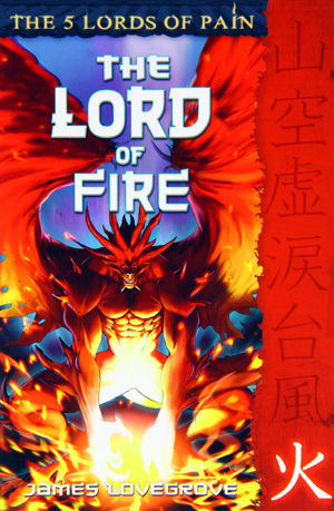 The Lord of Fire by James Lovegrove, Barrington Stoke 2010