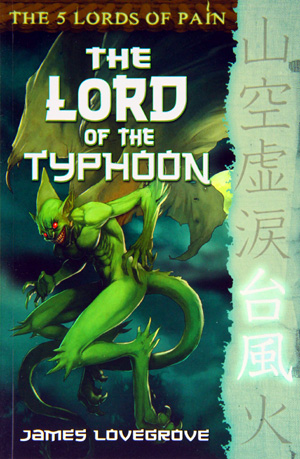 The Lord of the Typhoon by James Lovegrove, Barrington Stoke 2010
